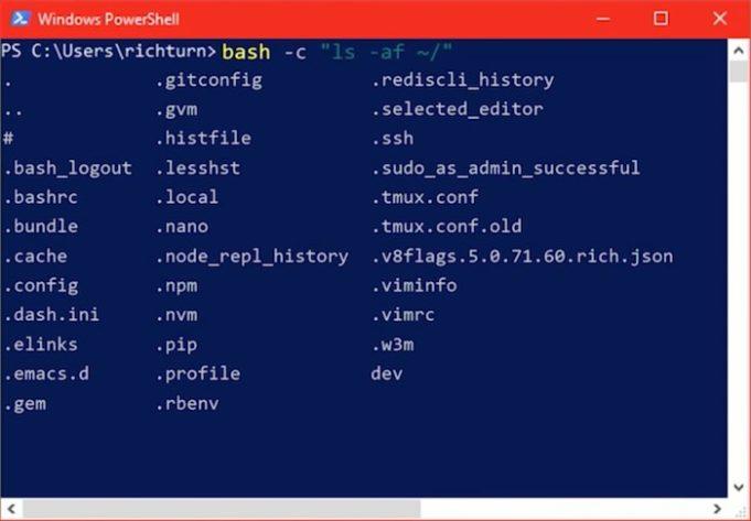 Imagen 1 en Mezclar Windows 10 y Ubuntu Linux; los planes de Microsoft
